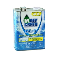 Moly Green Clean Diesel DL-1 5W30, 4л 0470125